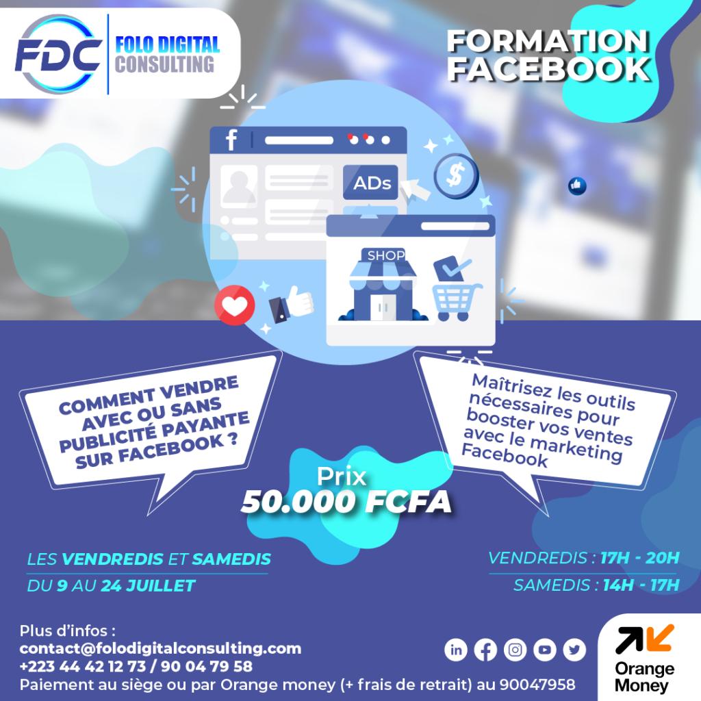 Formation Faceboook ADS
